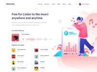 Music web attchment