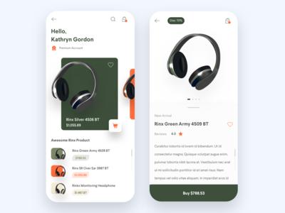 Online Shop - Headphone