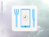 e-diyet Logo : Digital Diet App Logo