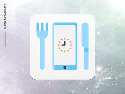 e-diyet Logo : Digital Diet App Logo logo app mobile diet digital