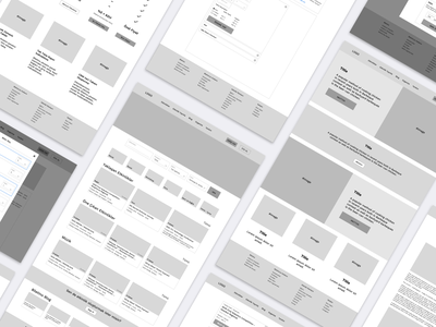 Event Search and Ticket Sale Website ecommerce bilet ticket booking event design wireframe