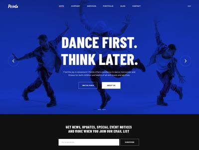 Pointe Dance Studio WordPress