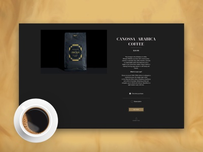 Suite 437 typography ui animation design online store coffee shop ecommerce shopify webdesign upqode