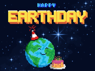 Happy Earthday 2021 illustration graphic design environment earthday earth day agency design professional webdesign upqode
