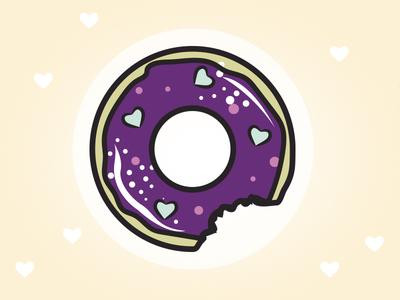 Donut vector illustration donut