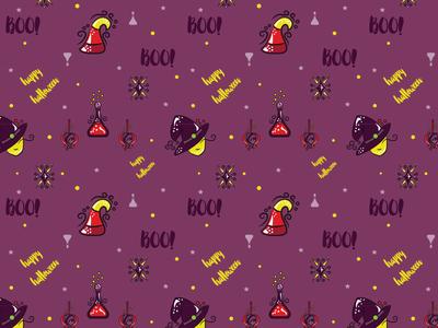Halloween Pattern illustration vector seamless pattern pattern halloween