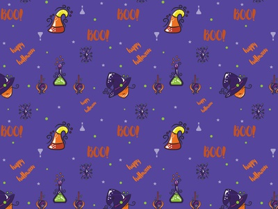 Halloween Pattern 2 illustration vector seamless pattern pattern halloween