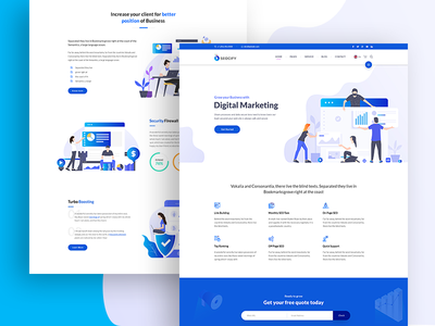 Seocify - SEO And Digital Marketing Agency WordPress Theme icon agency branding portfolio agency wordpress development wordpress design wordpress agency landing page animation vector design isometric design isometric illustration design illustration branding website web ux ui