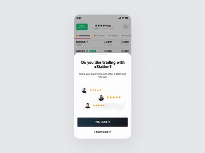 xStation Mobile - Rating app