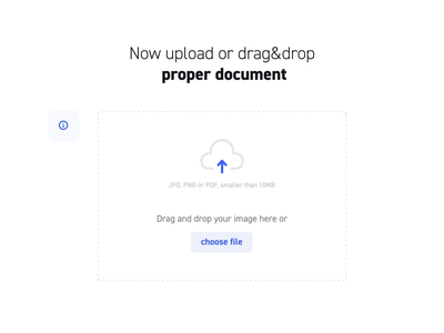 Partnership Office Onboarding - Upload document platform progress zoom design loading microinteraction icon drag and drop document upload ux ui animation steps onboarding dashboard xtb