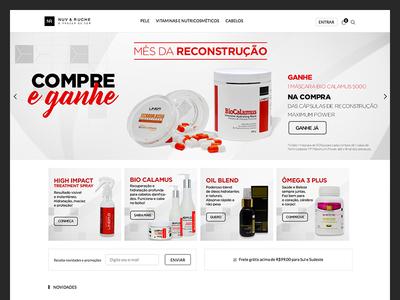 Nuv & Ruche - E-Commerce