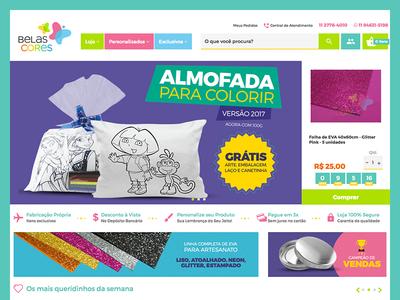 Belas Cores - E-Commerce