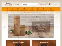 Grassy Caffè - E-commerce