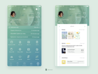 Profile Page - Douban Redesign