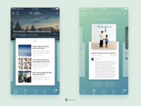 Home & Movie Page - Douban Redesign