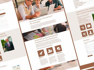 Decidere Consulting Website branding logo design ui  ux design