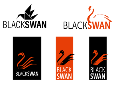 Logo development logo flat typography minimal vector branding design