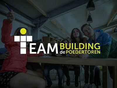 Teambuilding de Poedertoren photography graphic design logo