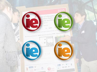 IE-Net graphic design logo