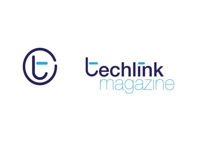 Techlink Logo branding graphic design logo