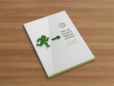 FEBEM duurzaamheidsverslag annual report editorial design graphic design