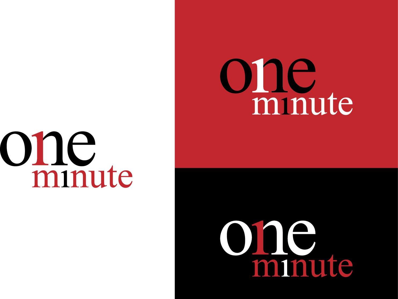 The One Minute Channel vector graphic design design branding logo