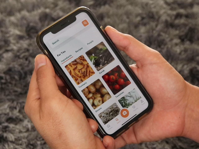 Search Flow nutrient facts nutrients health video prototype search recipe principle animation clean product design ios interaction mobile iphone app ux ui