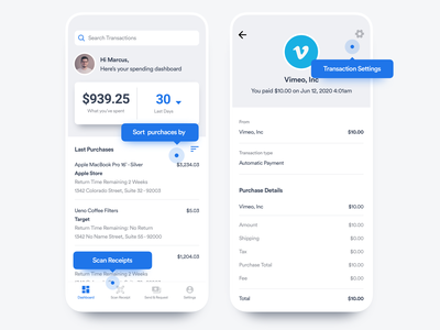 Finance & Expense Tracker App money transfer debt budget banking bank finance reports savings minimal flutter saas product design ios interaction mobile iphone app ux ui