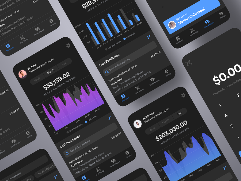 Wallet App account funds transfer crypto financial savings wallet finance bank banking flutter saas product design ios interaction mobile iphone app ux ui