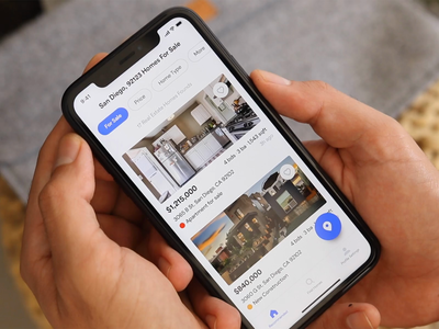 Real Estate Filtering and Map Interaction Design renting booking andorid flutter homes zillow real estate rent housing principle animation ios mobile product design saas iphone interaction app ux ui