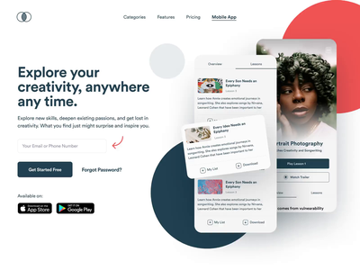 Landing Page Scroll Parallax phone parallax loading animation principle prototype sales landing page web website webflow b2b saas product design mobile iphone interaction app ux ui