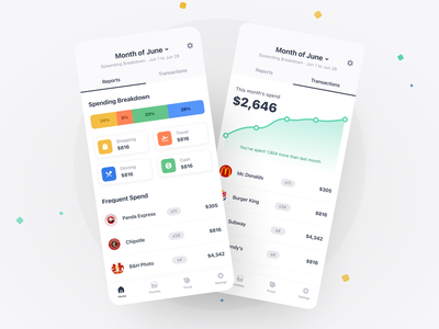 Banking App report graphic ios transaction banking bank finance figma flutter saas product design mobile iphone interaction app ux ui