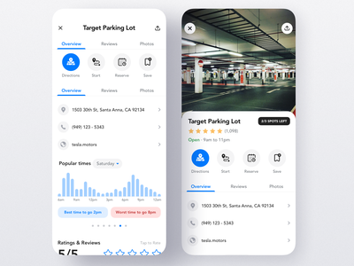 Mobile App for Finding Electric Car Charging Stations parking route map electric car charging station product design interaction ios app iphone mobile ux ui