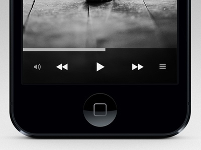 iPhone Music Player
