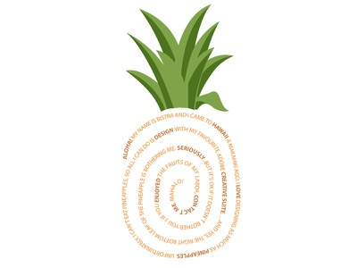 Creative cover letter creative pineapple coverletter
