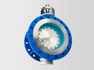 Butterfly Valve industrial fittings industry 3d artist product visualization quixel blender 3d art