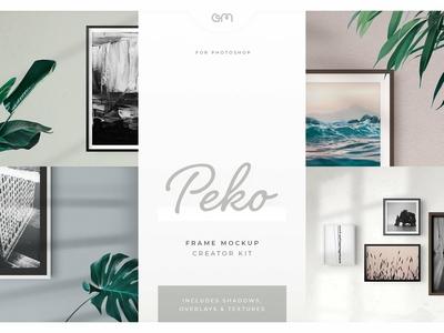 Am Studio Peko Frame Mockup