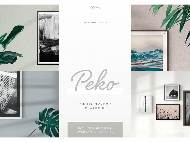 Am Studio Peko Frame Mockup psd scene creator frame mock-up presentation design design mock-ups branding mock up