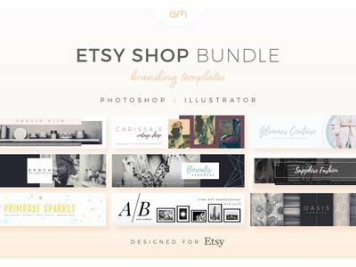 Am Studio Etsy Shop Bundle