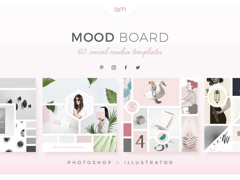 Am Studio Mood Boards brand board template design template builder fashion art design blog color palette bloggers designer blogger minimal mood boards moodboards branding