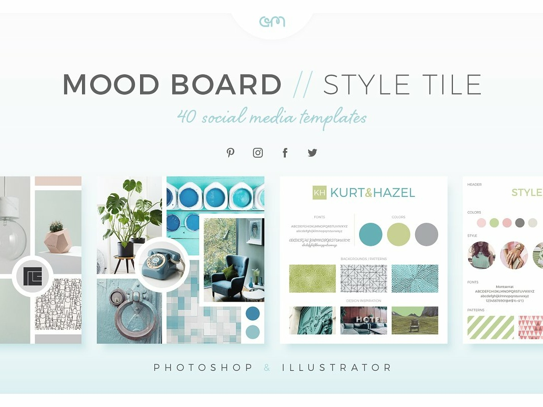 Am studio mood board style tiles preview 1