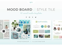 Mood Board Style Tiles