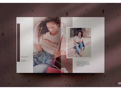 Vilu Magazine Mockup