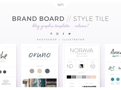 Brand Boards Style Tiles Vol 1