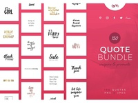 150 Quote Bundle