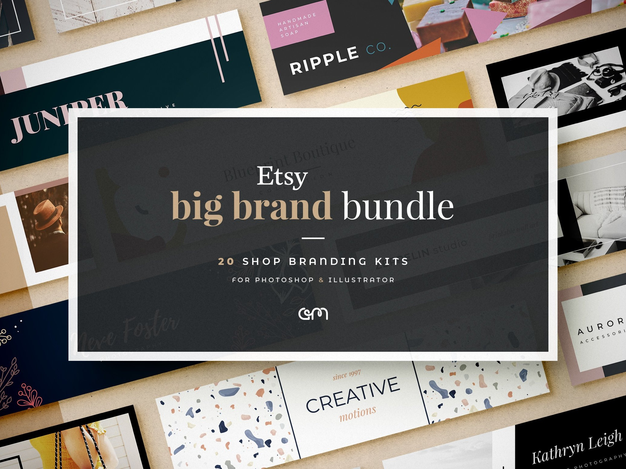 sito web per lo sconto nuova alta qualità bene fuori x Etsy Big Brand Bundle by Adele Mawhinney on Dribbble