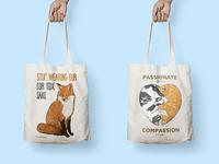 Compassionate Tote Bags