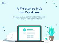 Branding for a Freelance Hub