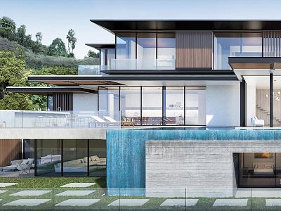 Photorealistic Architectural Visualization/Exterior exterior visualization architecture 3d frameviz