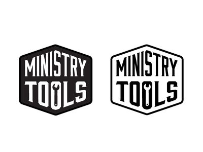 Ministry Tools Logo logo design negative space simplistic app tech technology tools logo church ministry